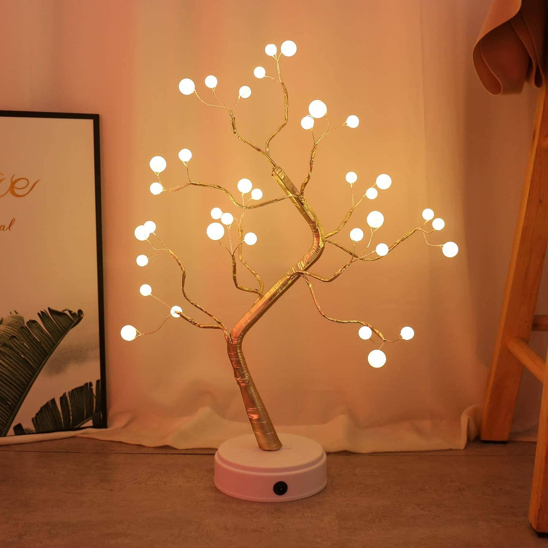 Magic Tree LED Night Light Lighting Fixtures & Accessories 054b4f3ea543c990f6b125: Style 1|Style 2