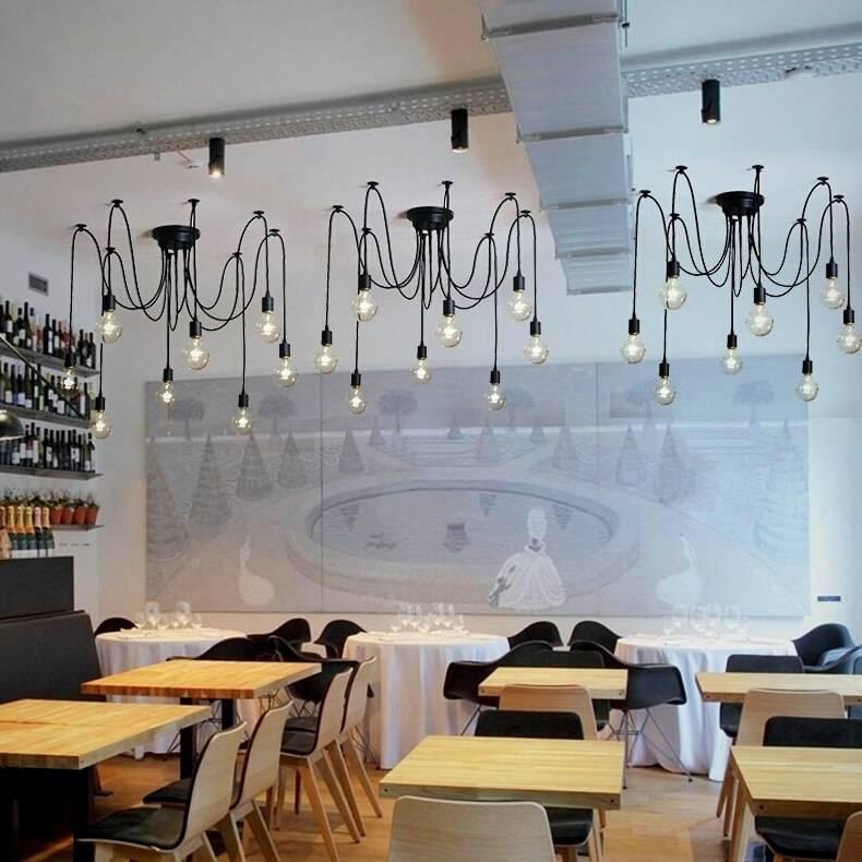 Loft Style Spider Ceiling Lighting