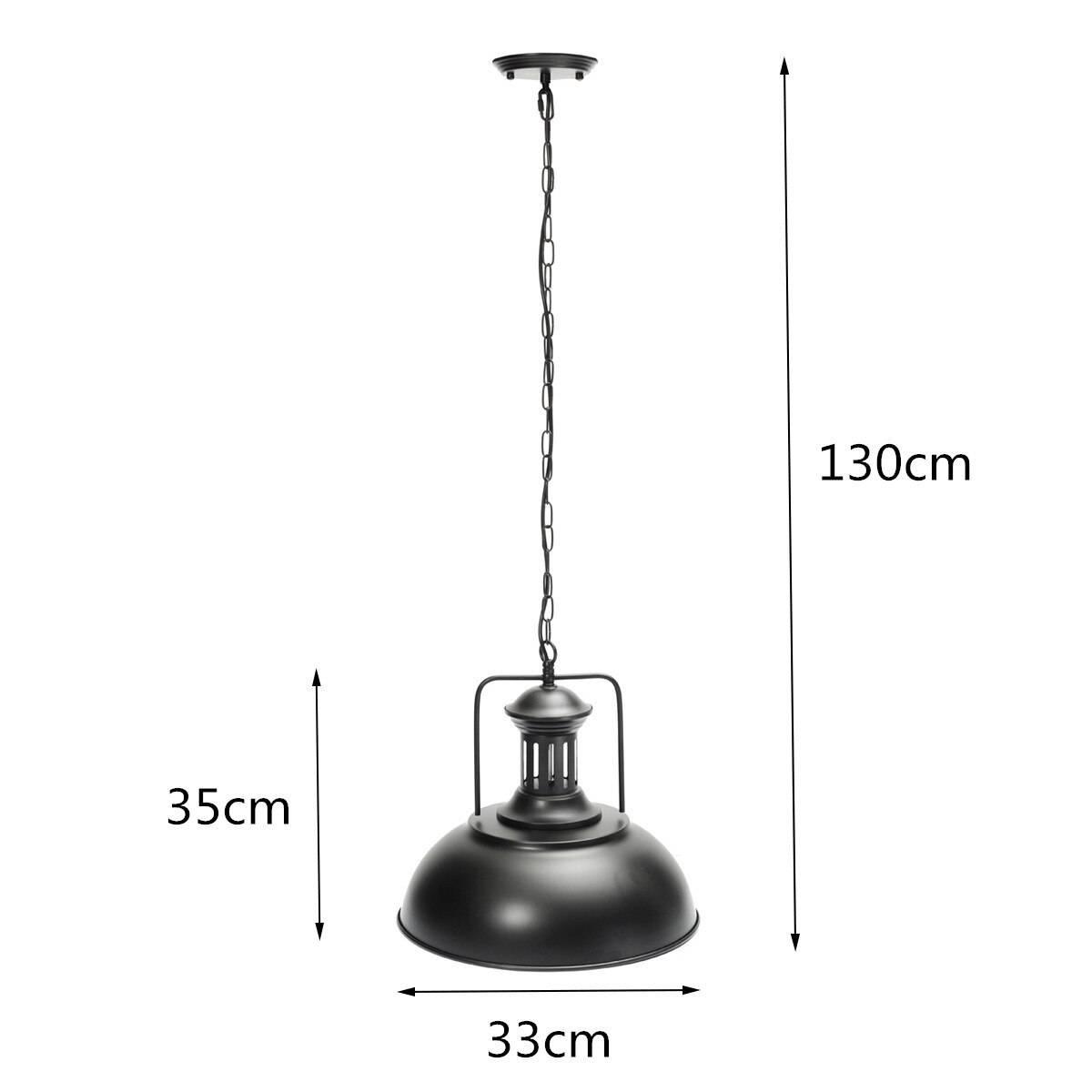 Black Rust Design Pendant Lighting
