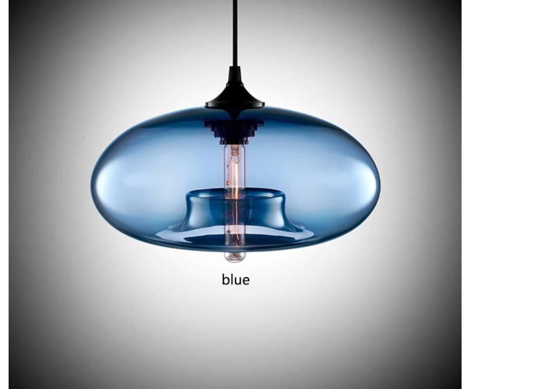 Color Glass Pendant Lamp