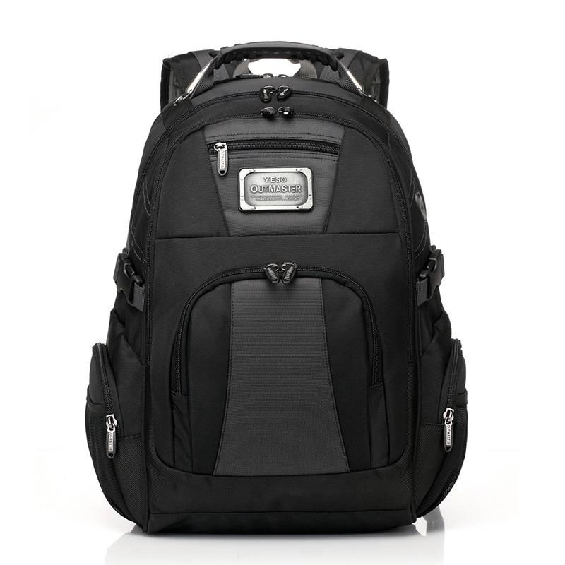 Large Capacity Laptop Backpack Camping Bags & Backpacks cb5feb1b7314637725a2e7: Black