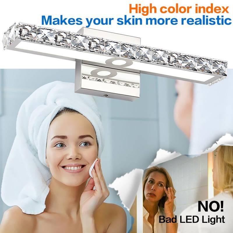 Crystal Bar Mirror Lighting Lighting Fixtures & Accessories e3a1da1edf19a4e671d502: 1000 mm|1000MM|425 mm|425mm|645 mm|645mm|850 mm|850MM