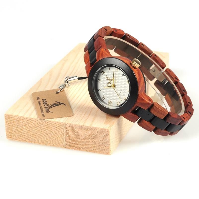 Wooden Women Wristwatch