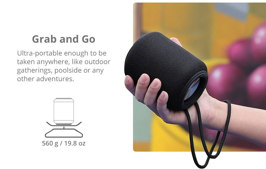 Mini Black / Red Bluetooth Wireless Speaker