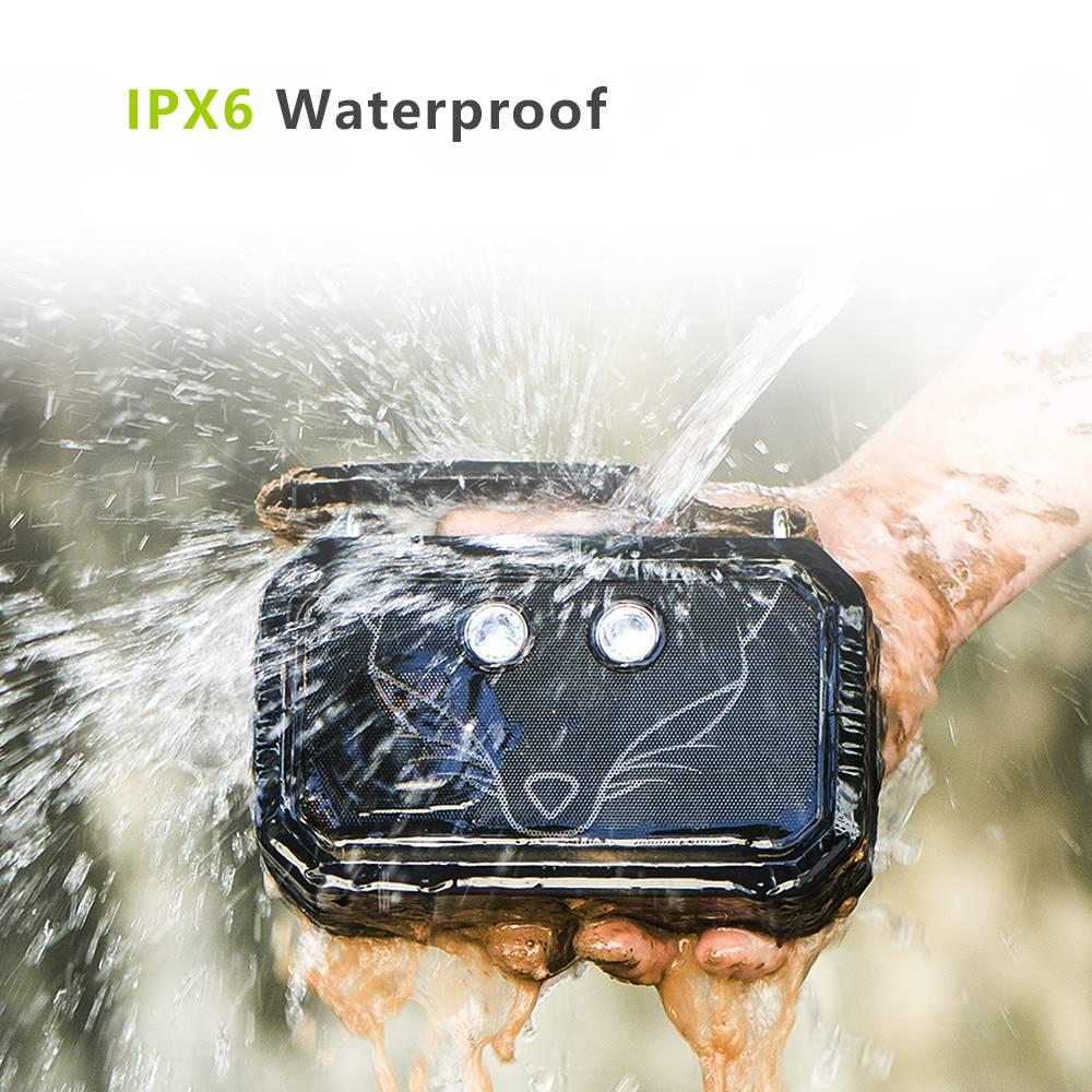 Wild Fox IPX6 Waterproof Wireless Speaker Wireless Gadgets cb5feb1b7314637725a2e7: Army Green|Black
