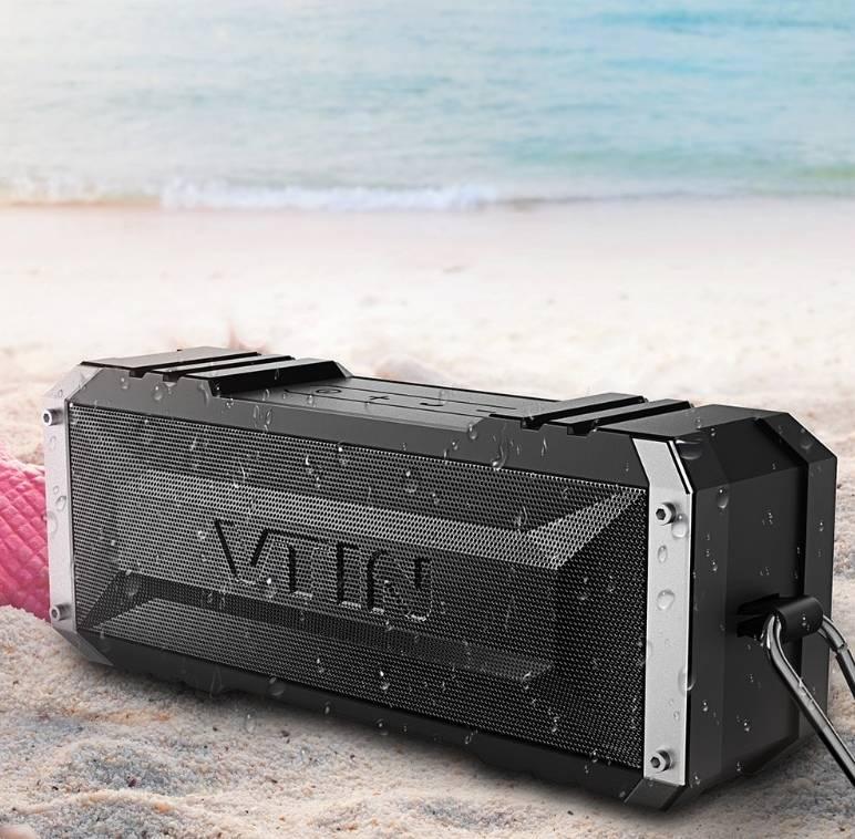 Waterproof Portable Wireless Speaker Wireless Gadgets cb5feb1b7314637725a2e7: Black Speaker