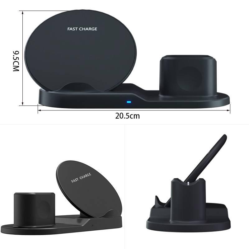 3 in 1 10W Fast Wireless Dock Stations