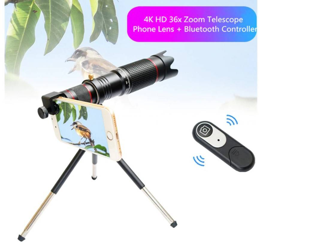 36X Zoom Phone Lens