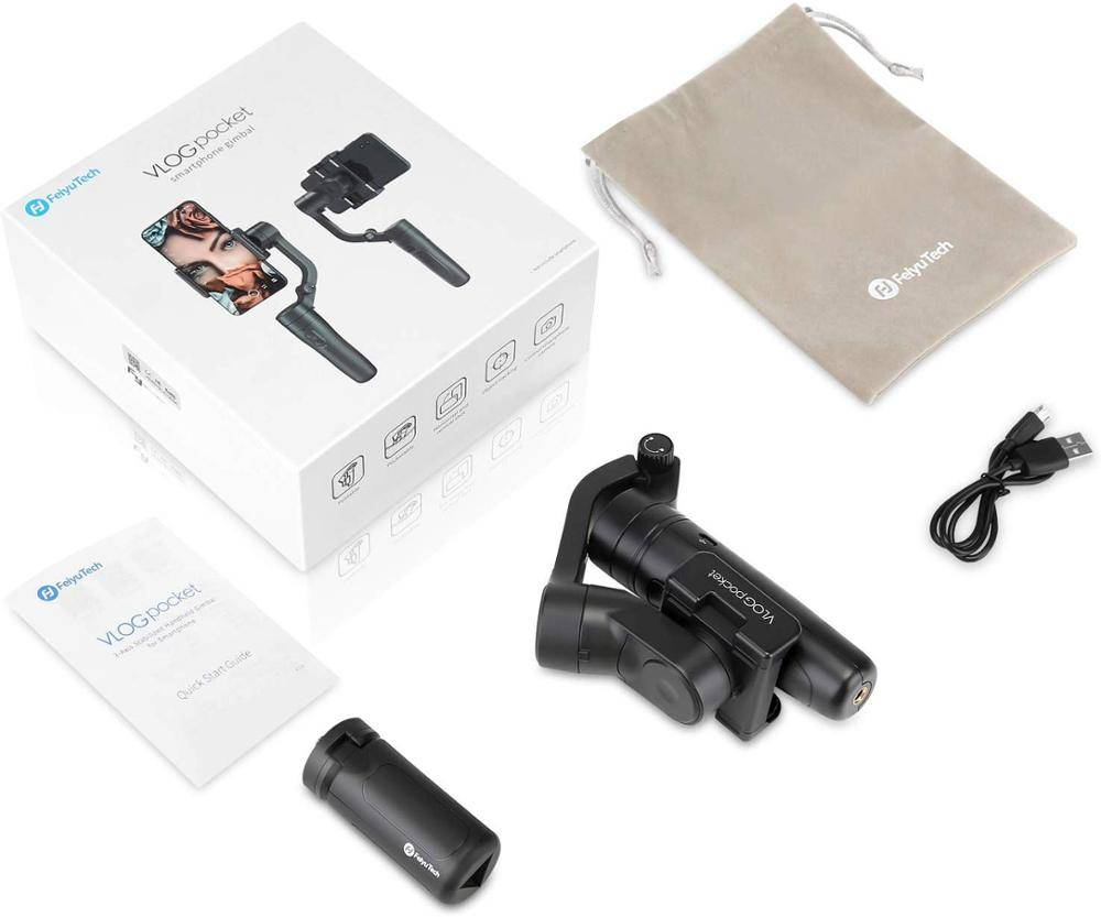 Pocket Sized Foldable Smartphone Gimbal Stabilizer Phone Accessories cb5feb1b7314637725a2e7: Vlog Pocket Black Vlog Pocket Pink