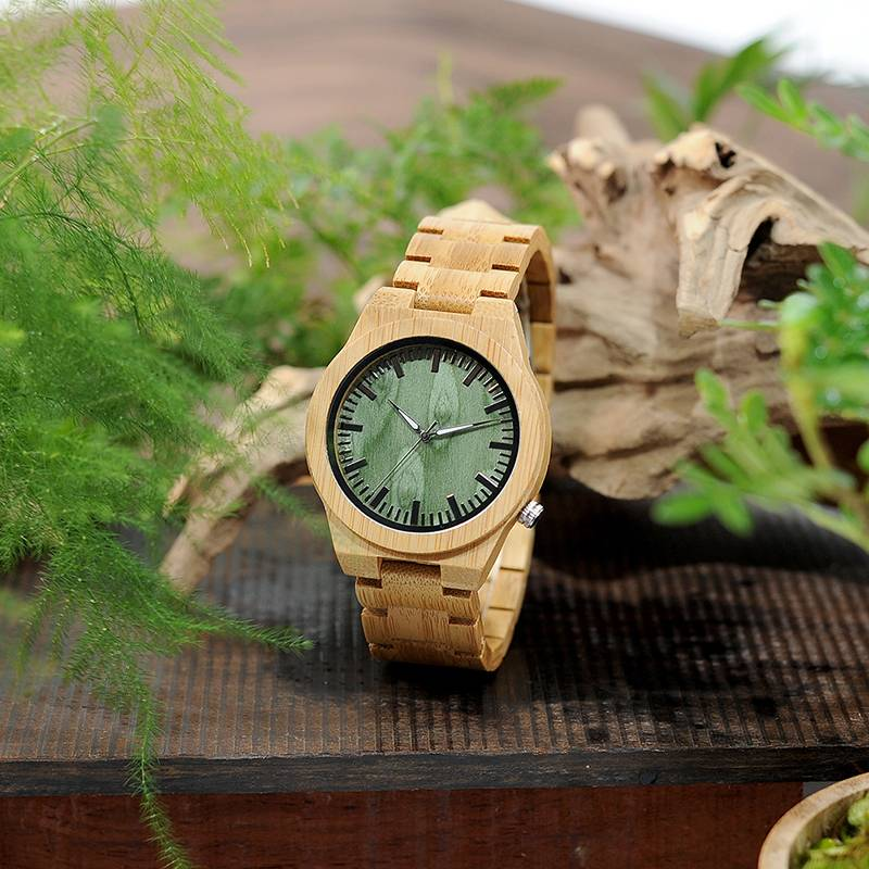 Luxury Men Bamboo Wood Wristwatch Wooden Watches 1ef722433d607dd9d2b8b7: Ships from China Ships from USA