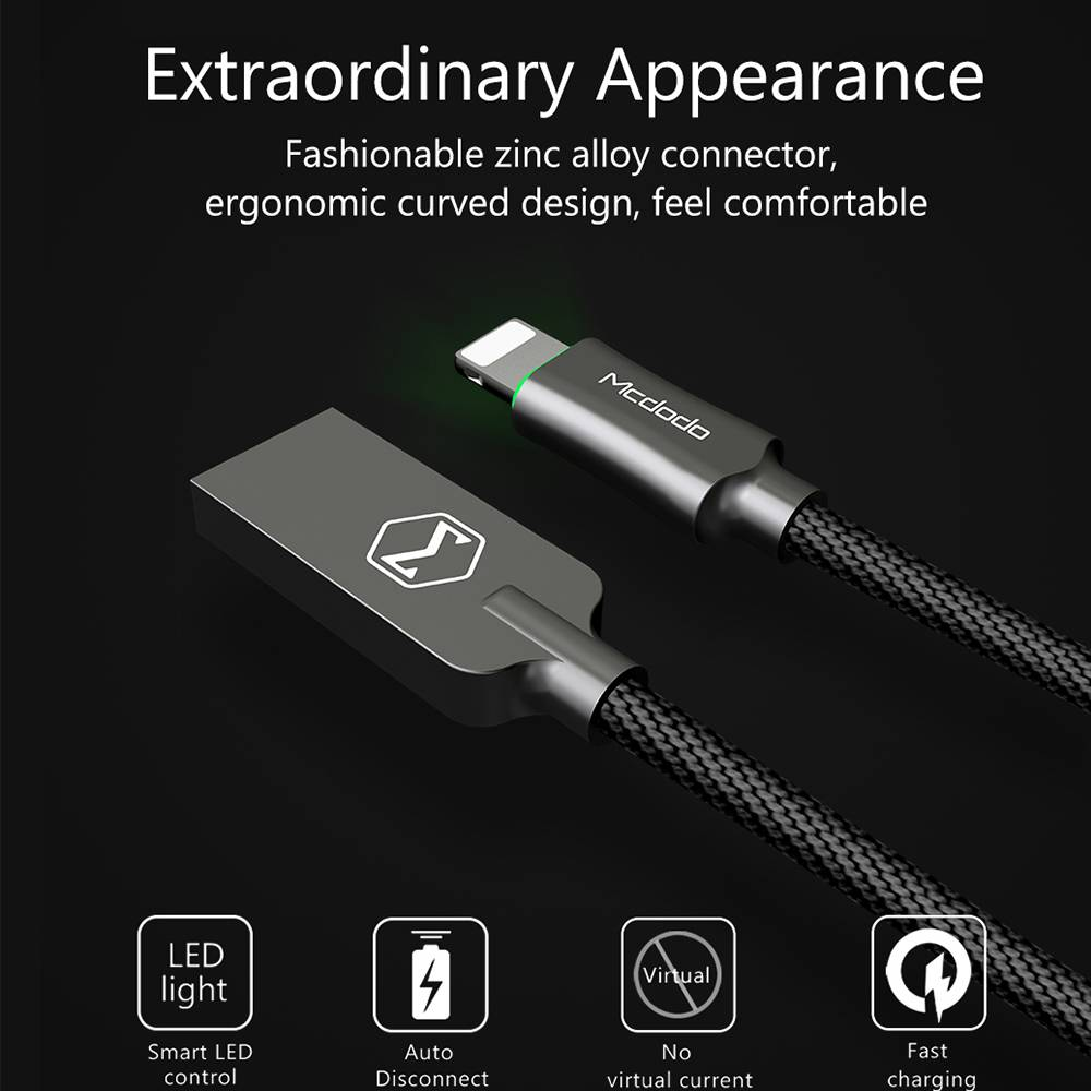 Fast Charging Lightning to USB Cable for iPhone Phone Accessories cb5feb1b7314637725a2e7: Gold Grey Red Tiffany blue