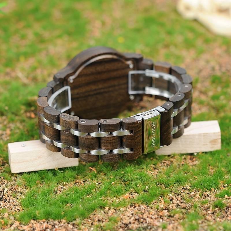 Men Wooden Quartz Watch with Date Wooden Watches cb5feb1b7314637725a2e7: P19-1|P19-2|P19-3