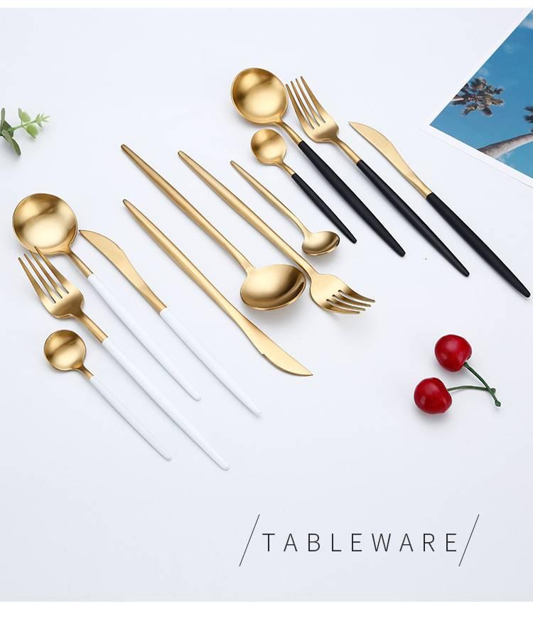 Nordic Style Dinner Flatware 4 pcs Set