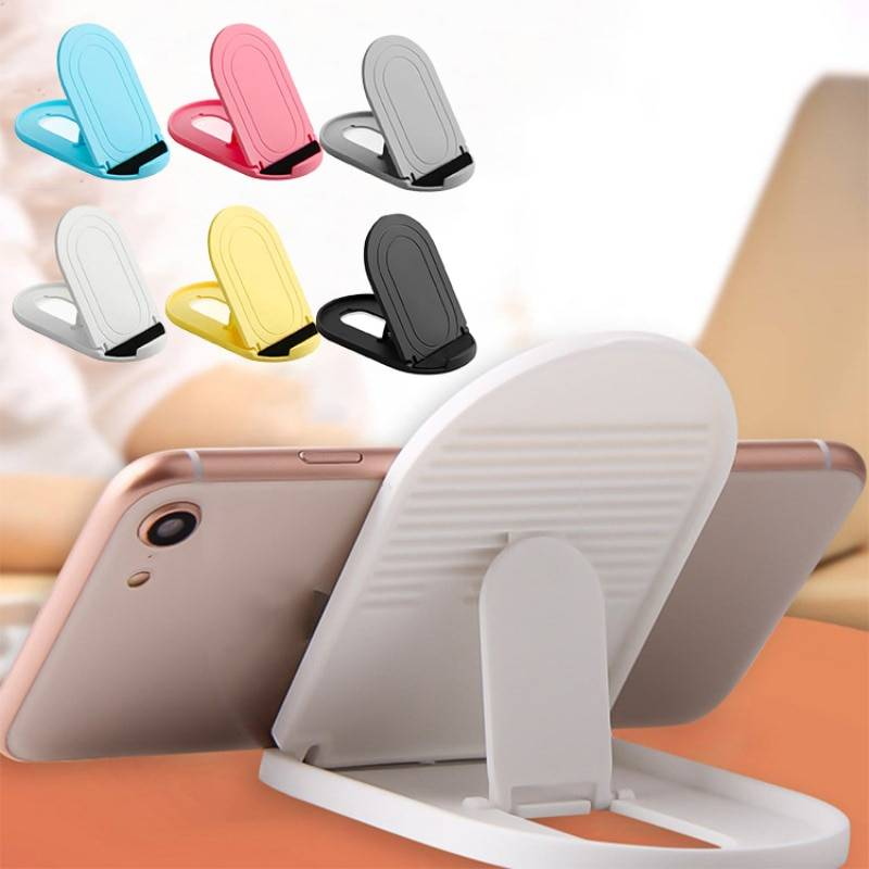 Colorful Universal Desktop Stand for Phone / Tablet Phone Accessories cb5feb1b7314637725a2e7: Black|Gray|Pink|Sky Blue|White|Yellow
