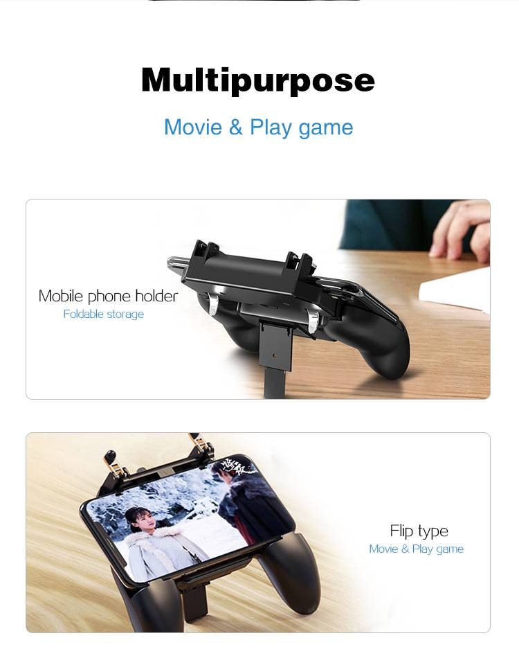 Cooling Bluetooth Gamepad with Triggers for Phones