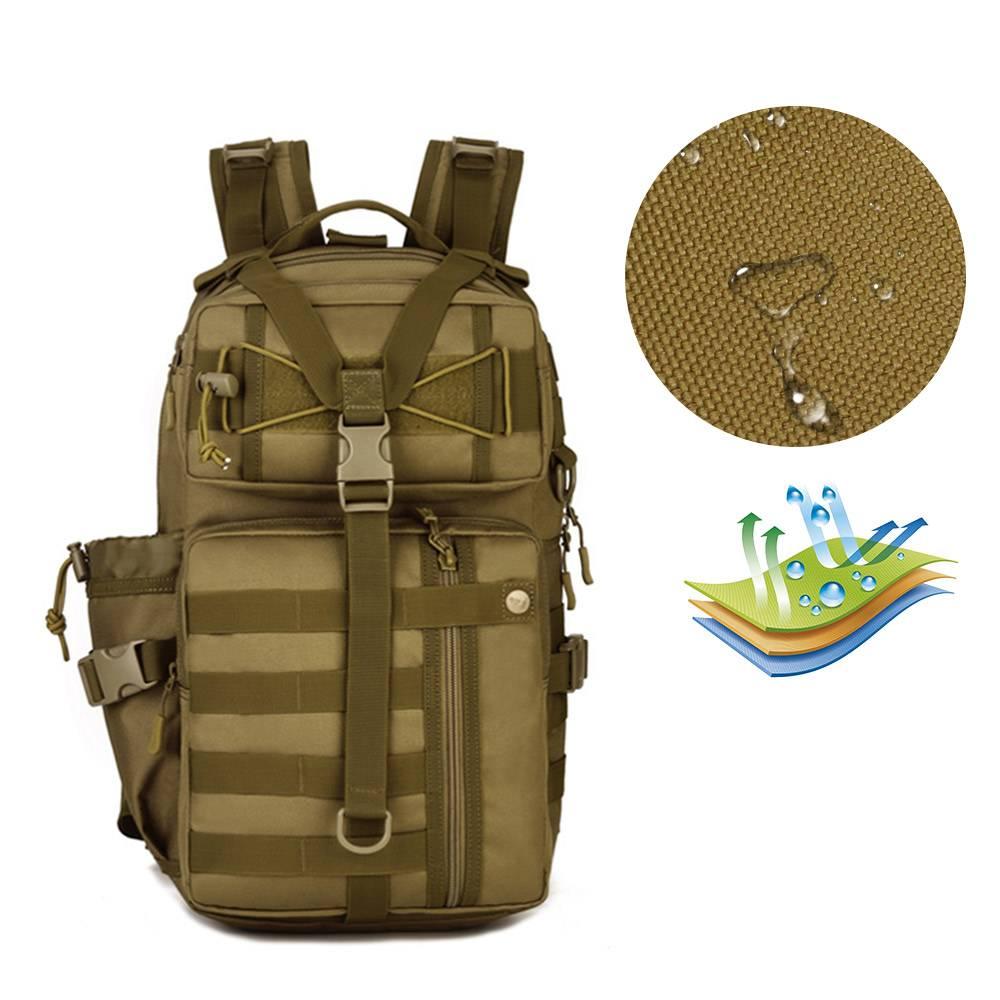 Waterproof Military Nylon Backpacks 30 L Camping Bags & Backpacks cb5feb1b7314637725a2e7: Black|Camel|Camouflage|coffee|Green|Khaki