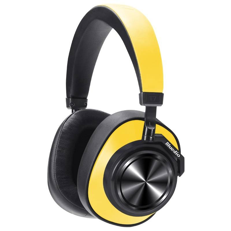 Active Noise Cancelling Bluetooth Headphones Earphones & Headphones cb5feb1b7314637725a2e7: Black|Black with SD card slot|Red|Yellow