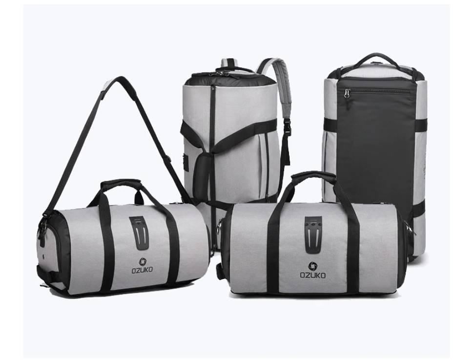 Cylinder Shaped Large Capacity Travel Bag