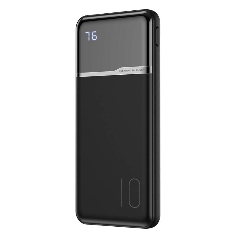 Portable Power Bank with Digital Display Best Sellers Phone Accessories cb5feb1b7314637725a2e7: Black|White