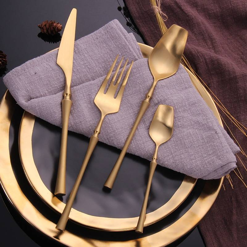 Eco-Friendly Stainless Steel Cutlery Sets