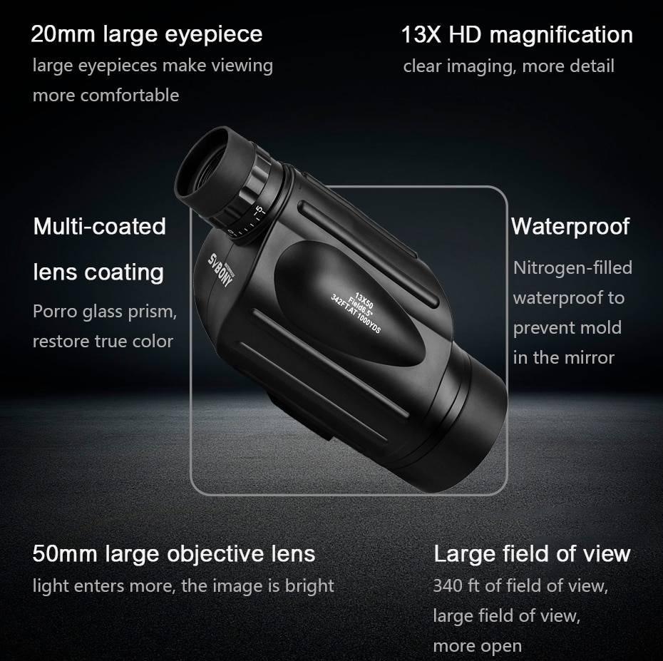 Hunting Zoom Monocular Binoculars & Optics 1ef722433d607dd9d2b8b7: Ships from China
