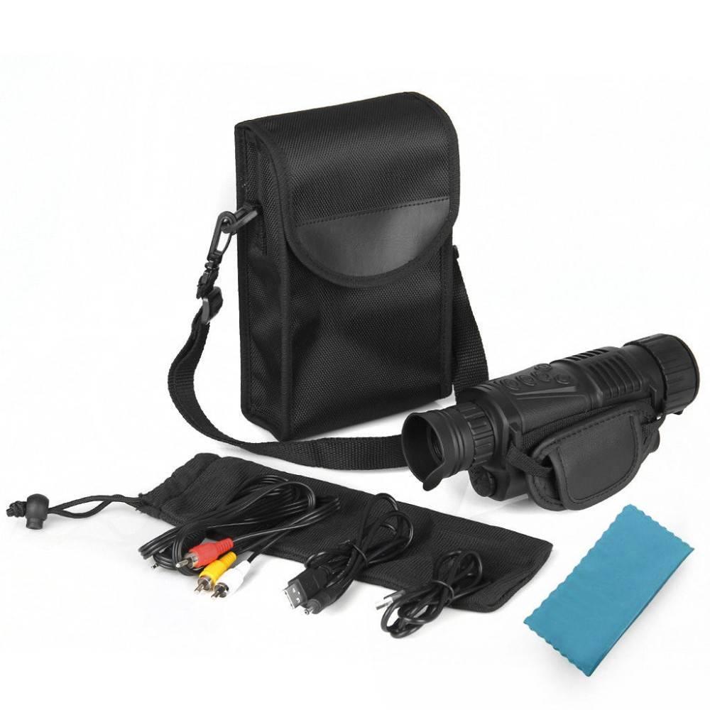 Tactical Digital Night Vision Monocular Binoculars & Optics cb5feb1b7314637725a2e7: US Adapter