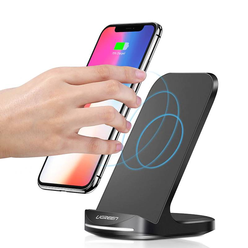 Stylish Universal Wireless Quick Charger for Phones Phone Accessories a1fa27779242b4902f7ae3: 2 Wireless Chargers|Add QC 3.0 Charger|Wireless Charger