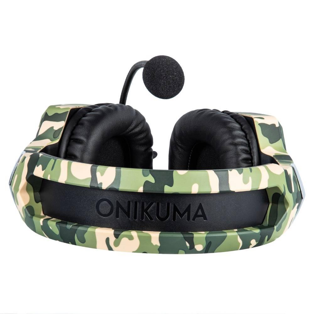 LED Camouflage Gaming Headset
