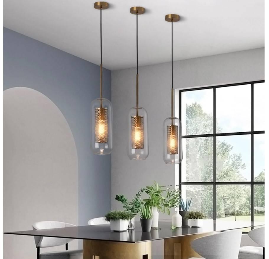 Loft Style Glass Pendant Lighting
