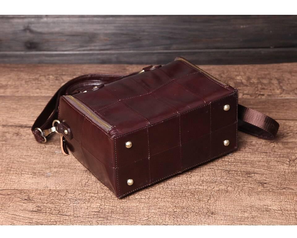 Multifunction Genuine Leather Handbags