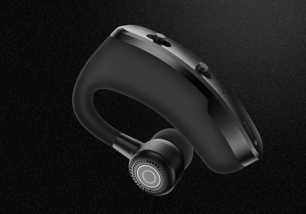 Rotating Bluetooth 5.0 Business Headphone Earphones & Headphones cb5feb1b7314637725a2e7: Black