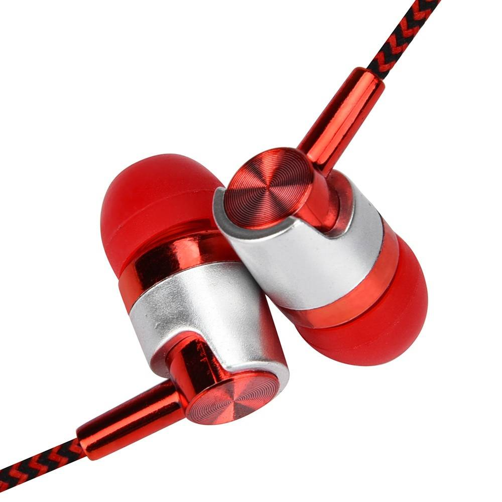 Universal 3.5mm In-Ear Stereo Earphones with Mic