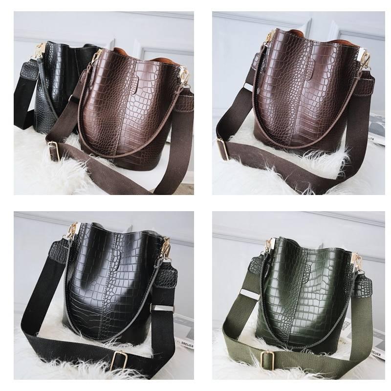 Women's Crocodile Crossbody Bag Women Bags & Wallets cb5feb1b7314637725a2e7: Beige Black Brown Gray Green Khaki Light Green