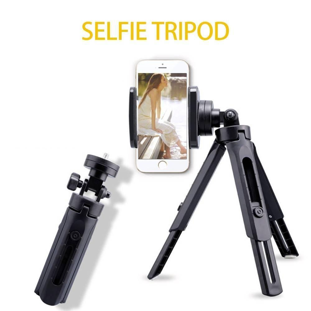 360 Degree Foldable Selfie Tripod Phone Accessories 1ef722433d607dd9d2b8b7: Ships from USA